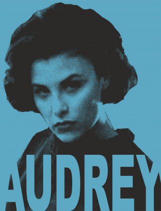 Twin Peaks Audrey plakat