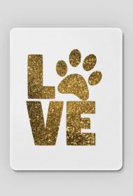 Podkładka pod mysz - Dog Love