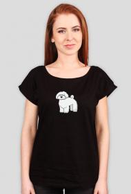 Damska koszulka (wycięcie) - Maltańczyk