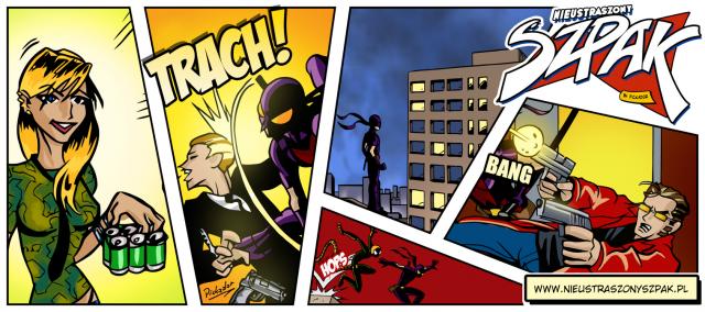 Komiksowy kubek superbohatera!