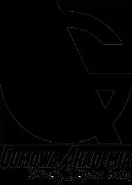 Koszulka GUMOWA AKADEMIA Break Dance Team - duże logo, czarno biała