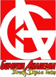Bluza męska GUMOWA AKADEMIA Break Dance Team, logo kolor
