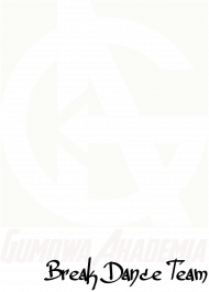 Czarna bluza GUMOWA AKADEMIA Break Dance Team