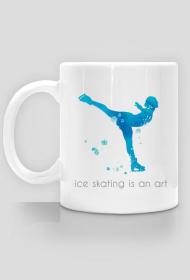 Kubek Ice skating is an art