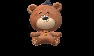 Bluza z Kapturem Dziewczęca Teddy Bear