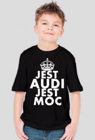 Koszulka chłopięca 'Jest Audi Jest Moc'