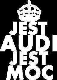 Koszulka dziewczęca 'Jest Audi Jest Moc'