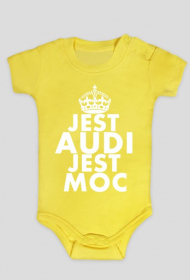 Body niemowlęce 'Jest Audi Jest Moc'