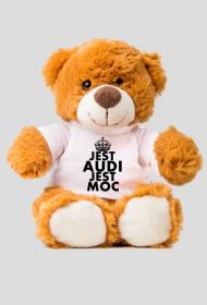 Miś w koszulce 'Jest Audi Jest Moc'