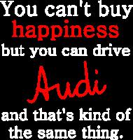 Bluza z kapturem 'You can't buy happiness'