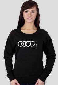 'Audi heart puls' bluza damska,bez kaptura