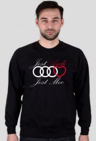 'Jest Audi Jest Moc' bluza męska,bez kaptura