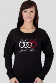 'Jest Audi Jest Moc' bluza damska,bez kaptura