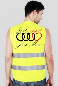 'Jest Audi Jest Moc' kamizelka odblaskowa
