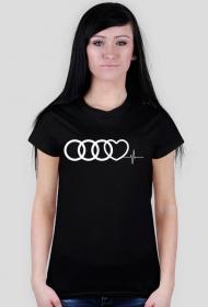 'Audi heart puls' koszulka damska