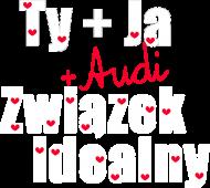'Ty+Ja+Audi' eko torba,czarna