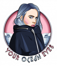 your ocean eyes billie eilish