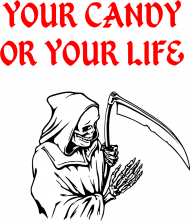 Koszulka Halloween - Śmierć