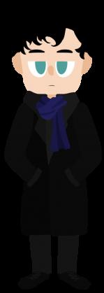 Cute Sherlock Koszulka Damska