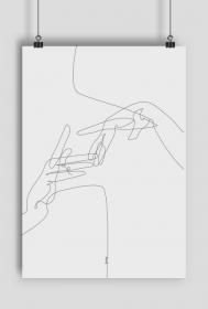 Plakat Ręce