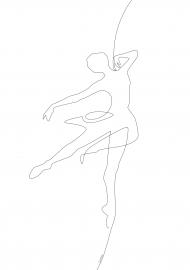 Plakat Taniec