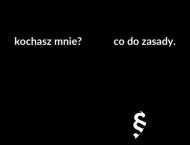 Kochasz mnie?