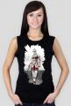 Koszulka damska bez rękawów: ''Kobieta przyszłości''