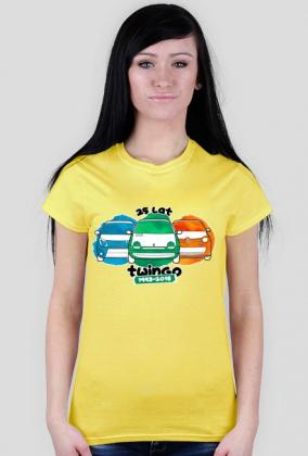 Czerwcówka z Twingo 2018 - koszulka damska