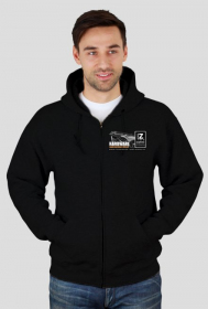 Bluza czarna męska - z logiem Zajawkarz Home Site