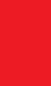 Maseczka ochronna biało-czerwona