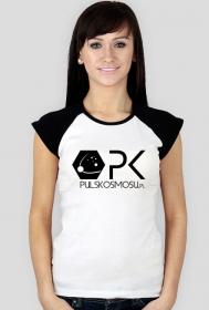 T-shirt z logo PK