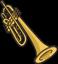 Trąbka. Prezent dla Trąbka, muzyk, muzyka, instrumenty