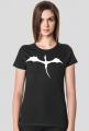 Damski T-shirt z logo Torg