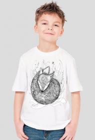 T-shirt dziecięcy Lis