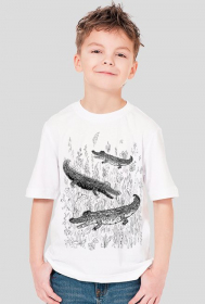 T-shirt dziecięcy Krokodyle