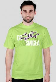 "AeroStyle - koszulka męska z dronem ""Od śmigła"""