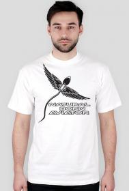 """AeroStyle - koszulka męska """"Natural born aviator"""""""
