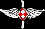 AeroStyle - plecak biały z szachownicą lotniczą