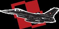 AeroStyle - plecak z polskim F-16