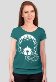 AeroStyle - różne kolory, hełm pilota, koszulka damska