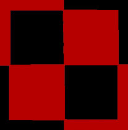 AeroStyle - poszewka na poduszkę - szachownica lotnicza