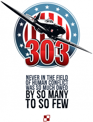 AeroStyle - kubek Dywizjon 303