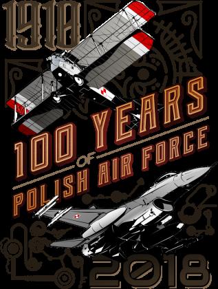 AeroStyle - stulecie lotnictwa czarna damska