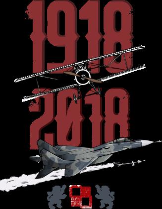 AeroStyle - stulecie lotnictwa biała damska