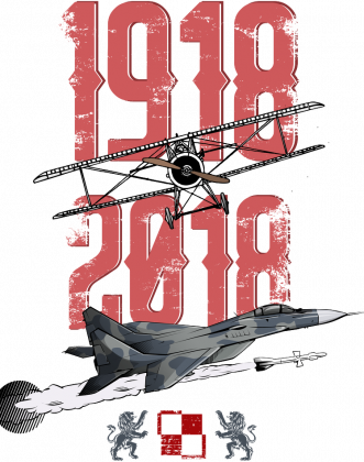 AeroStyle - stulecie lotnictwa czarna męska