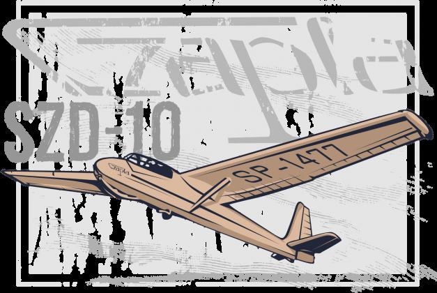 AeroStyle - szybowiec Czapla męska