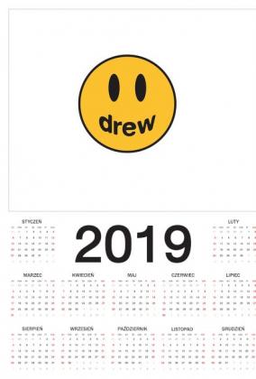 Kalendarz z logo DH