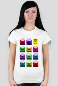 Oficjalna koszulka 2017 - Maraton Pisania Listów - wersja damska