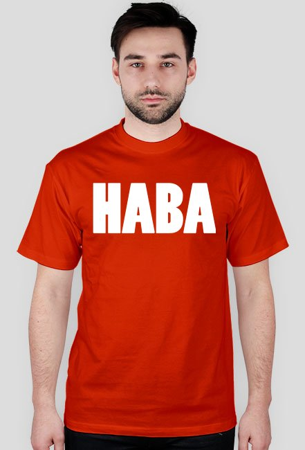 Haba / Mandaryna / t-shirt regular