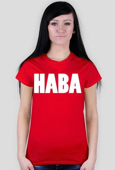 Haba / Mandaryna / t-shirt slim